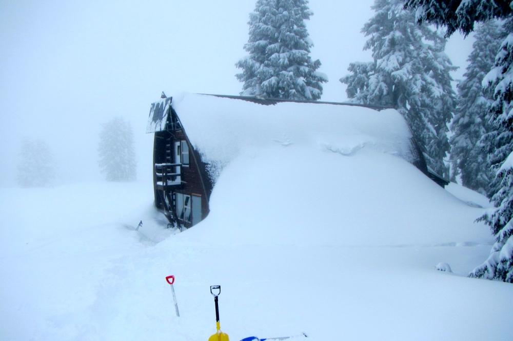 Just a bit snow...