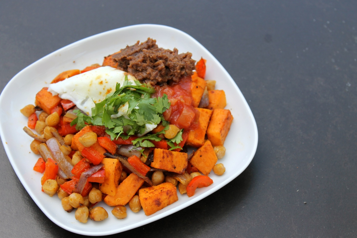 Zesty Sweet Potato Breakfast Hash