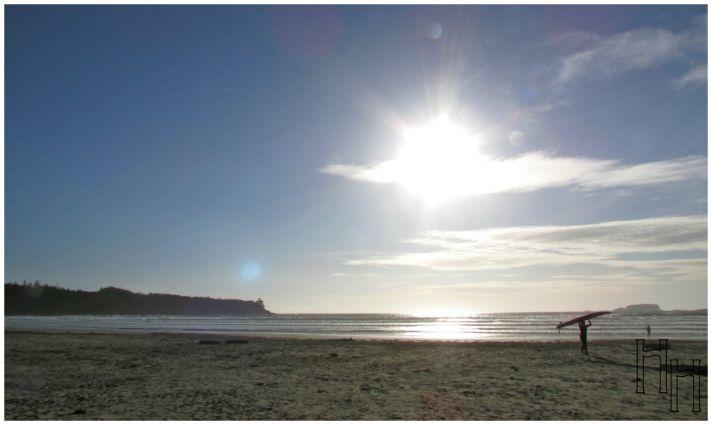 Cox Bay at Sunset