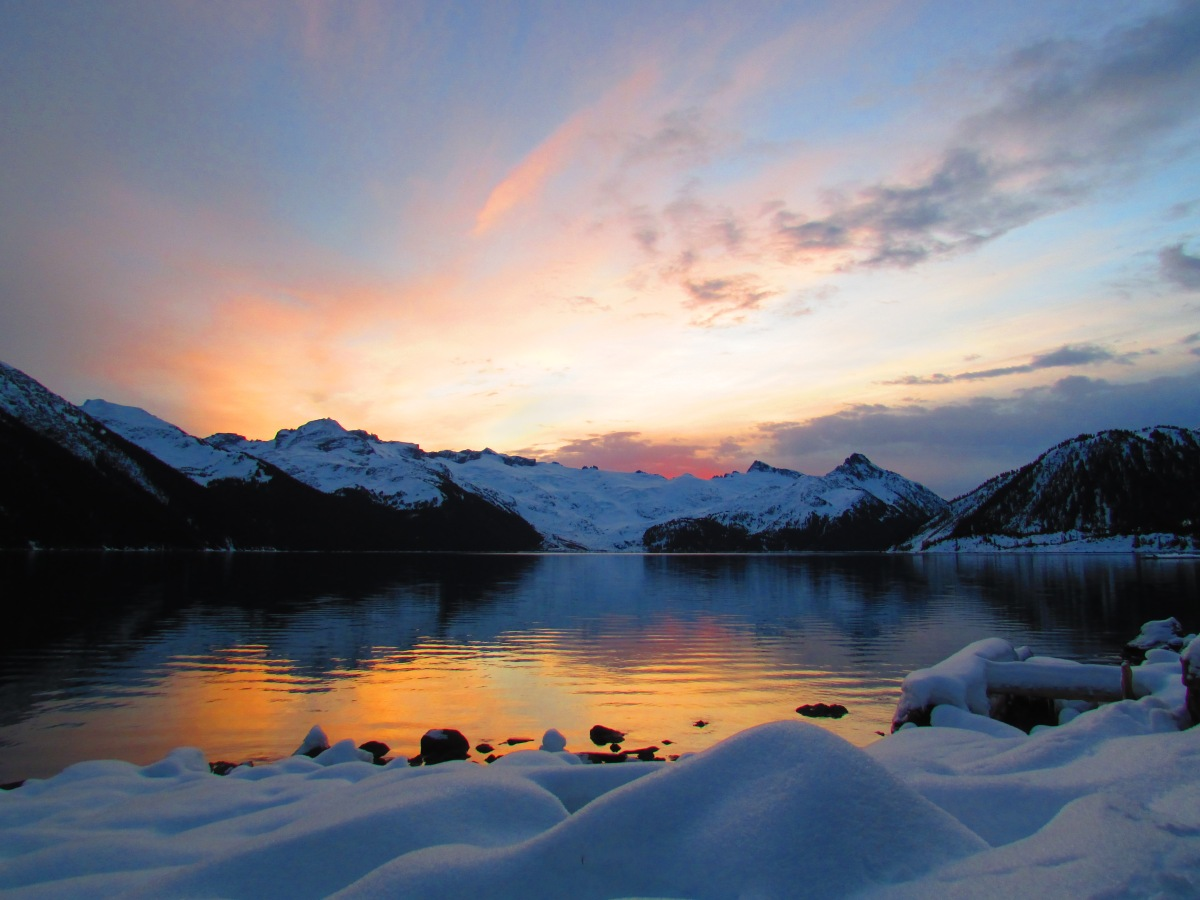 Garibaldi Provincial Park | Winter Camping on the Lake